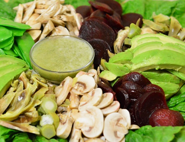 Image of Brennan Salad with Herb Dressing