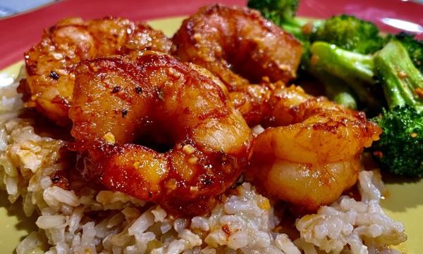 Image of Chipotle Honey Garlic Shrimp