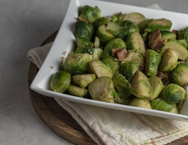 Image of Brussels Sprouts with Bacon and Thyme