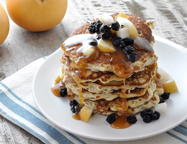 Image of Butterscotch™ Pear-Bacon Griddle Cakes