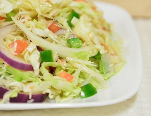 Image of Cabbage and Tomato Salad (Ensalada de Repolla y Tomatoes)