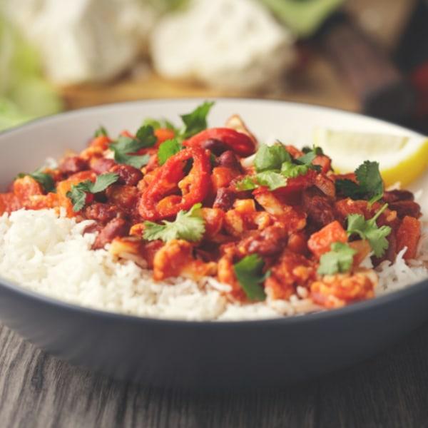 Image of Homemade Vegan Bean Chilli