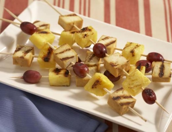 Image of California Fruit and Tofu Skewers