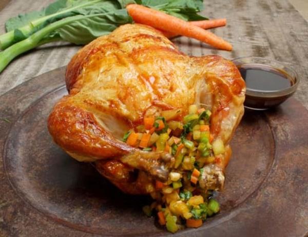 Image ofCantonese Roast Chicken with Honey-Hoisin Glaze