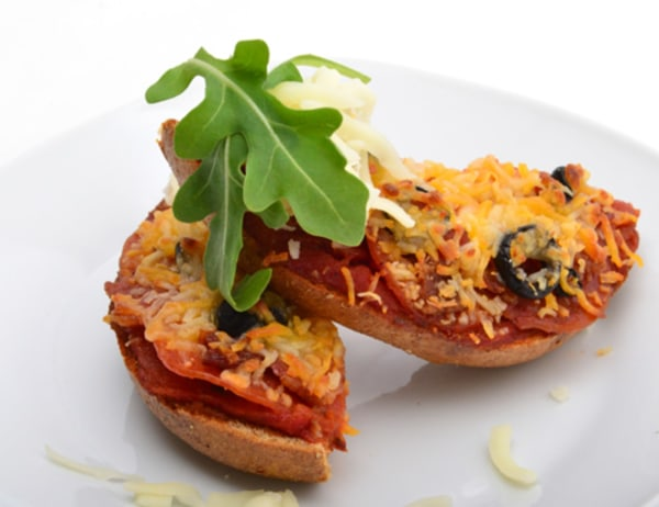 Image of Wheat Bagel Pizza