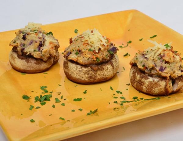Image ofShrimp Stuffed Mushrooms