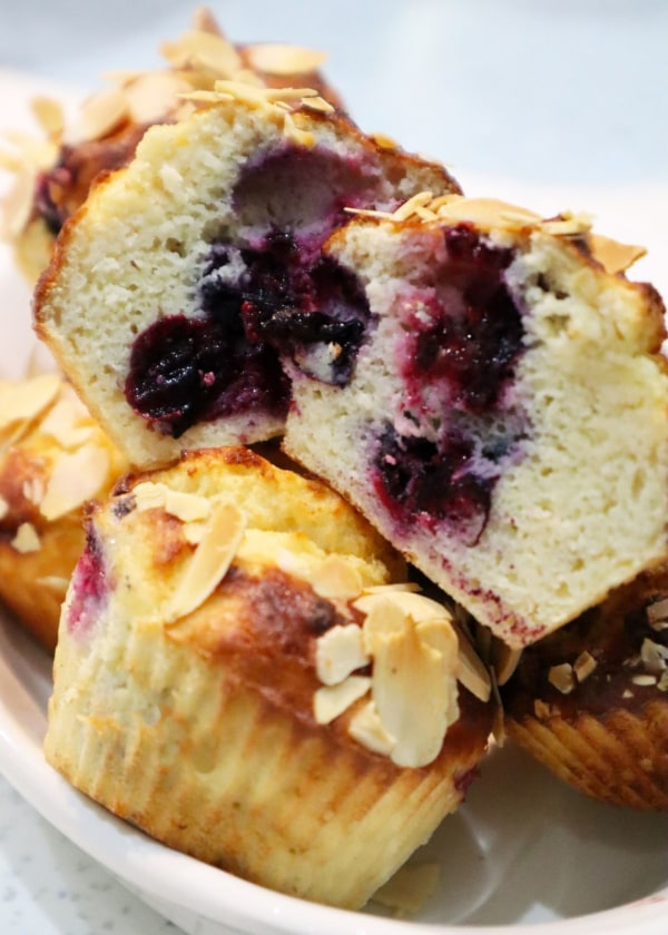 Image of Blackcurrant Muffins