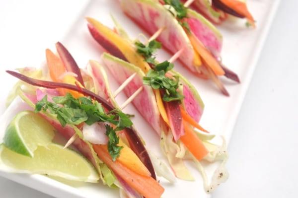 Image ofWatermelon Radish Tacos