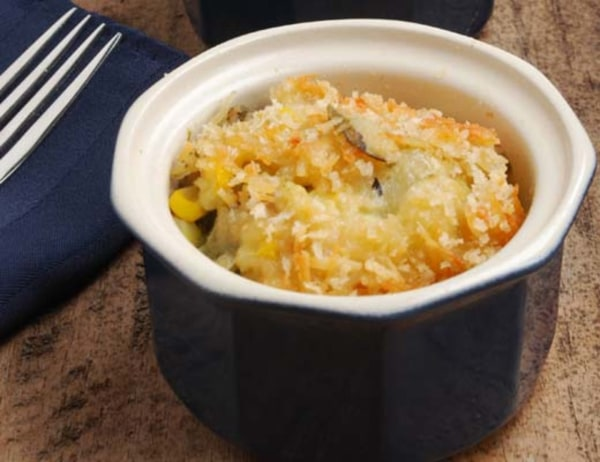 Image of Poblano Crusted Chayote Casserole