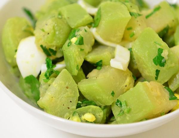 Image ofChayote Salad (Salada de Xuxu)