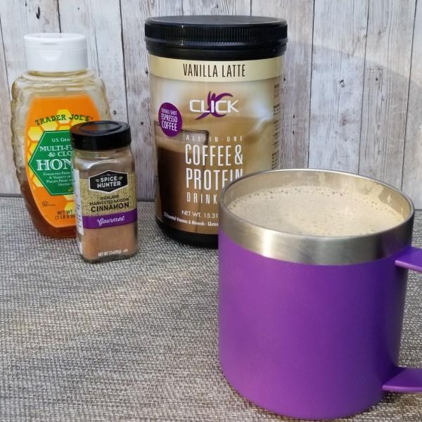 Image ofCLICK Honey Cinnamon Vanilla Latte