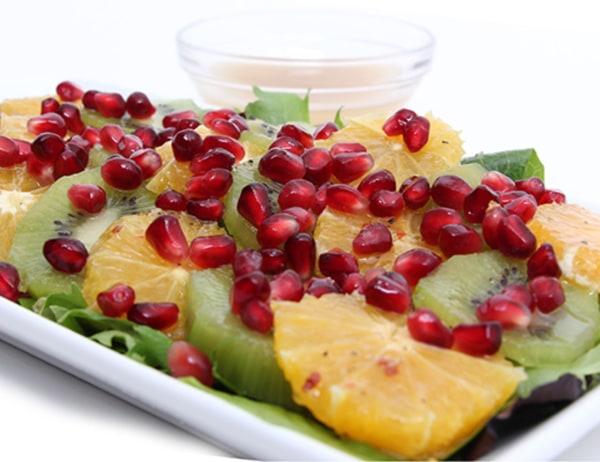 Image of Pomegranate, Orange and Kiwi Salad