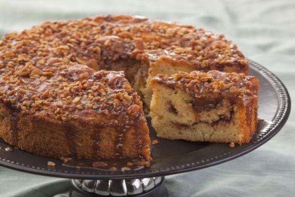 Orange Cardamom Coffee Cake Recipe