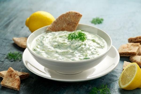 Spiced Yogurt Dip Recipe- Spicy Organic
