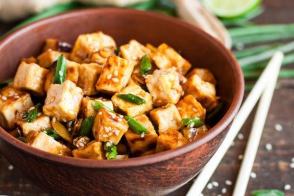 Crispy Fried Garlic Tofu Recipe- Spicy Organic