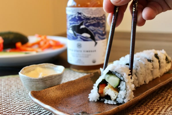 Image of Apple State Sushi Rice and Sauce