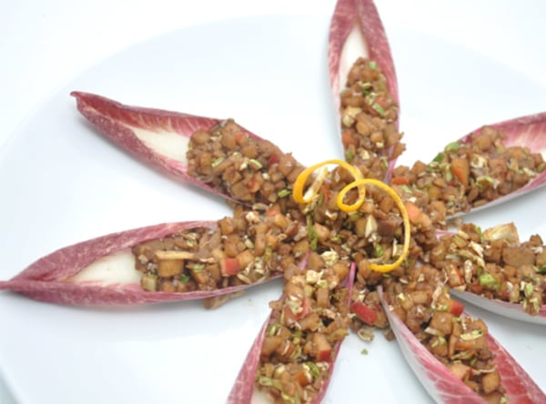 Image of Chestnut Stuffed Endive Appetizers