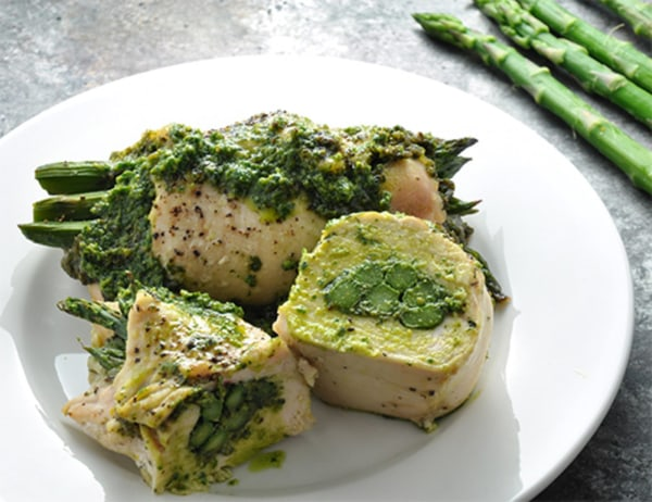 Image ofChicken with Asparagus