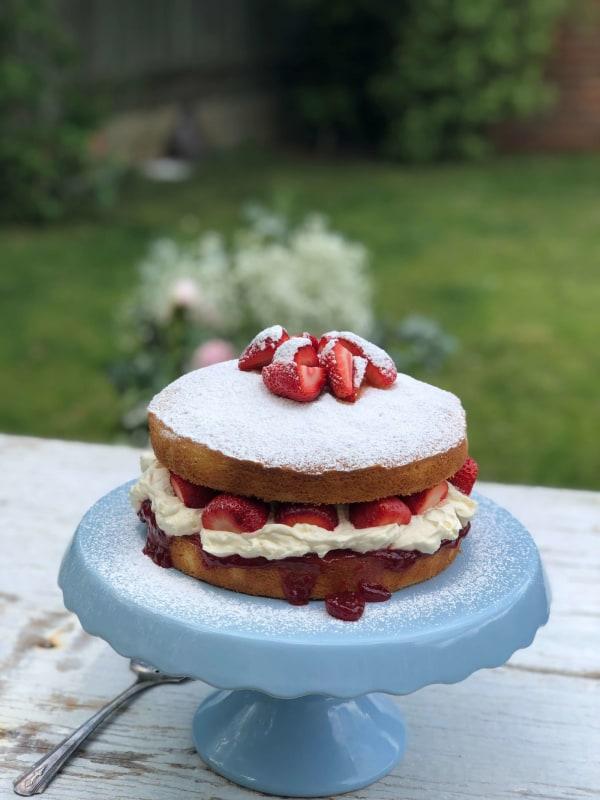 Image ofErdbeer-Sahne-Torte