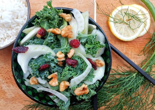 Image of Fennel Salad with Lemon Dressing Recipe