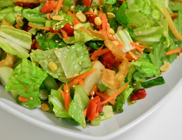 Image ofChinese Chickenless Salad