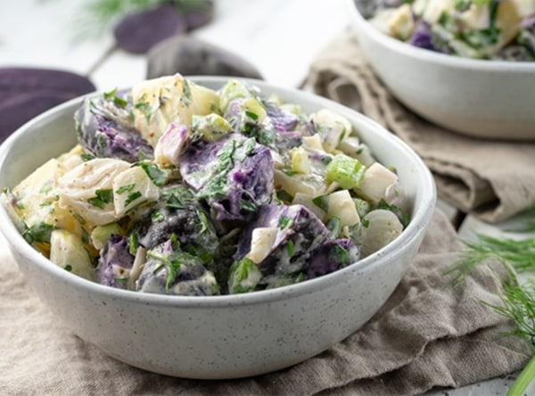 Image of Purple Potato Salad