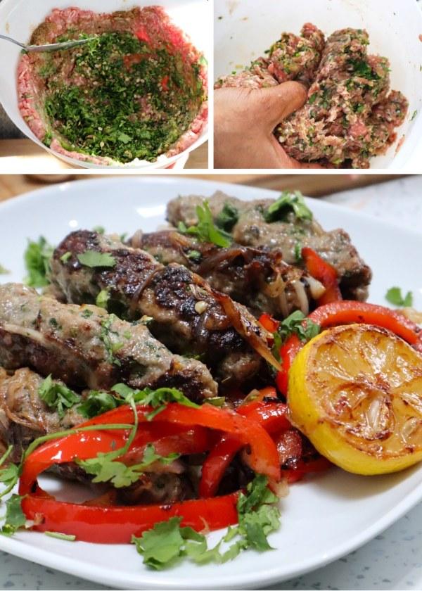 Image of Coriander Kebabs