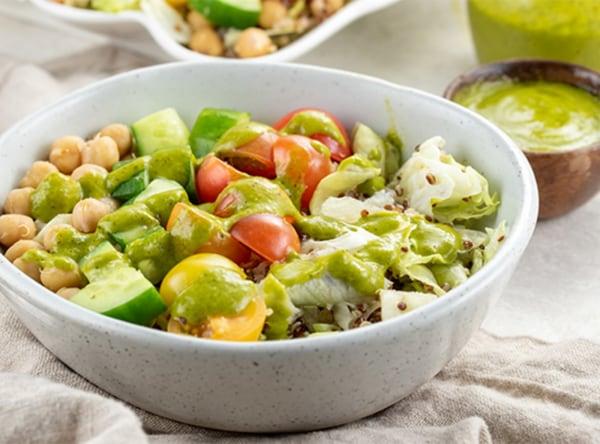 Image of Quinoa, Chickpea & Tomato Salad