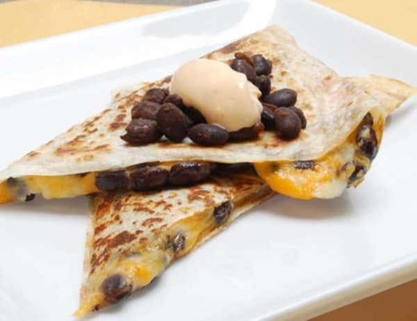 Image of Chipotle Black Bean Grilled Quesadilla