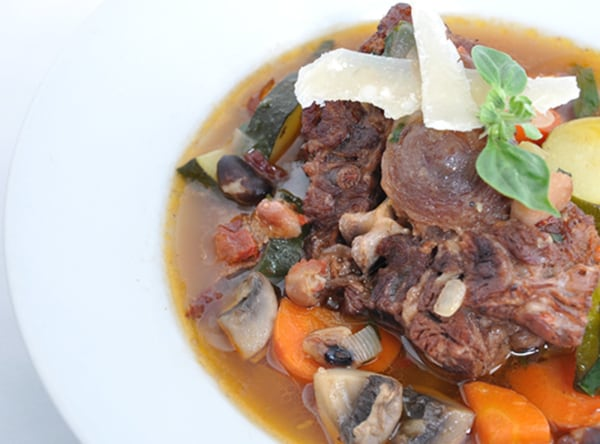 Image ofChipotle-Oxtail Minestrone Soup