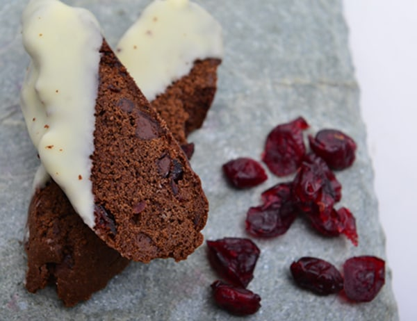Image of Chocolate and Dried Cranberry Biscotti