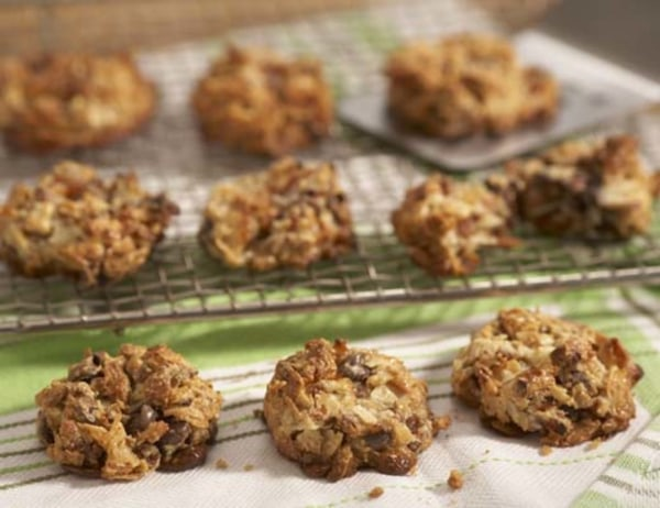 Image ofChocolate Apricot and Coconut Cookies