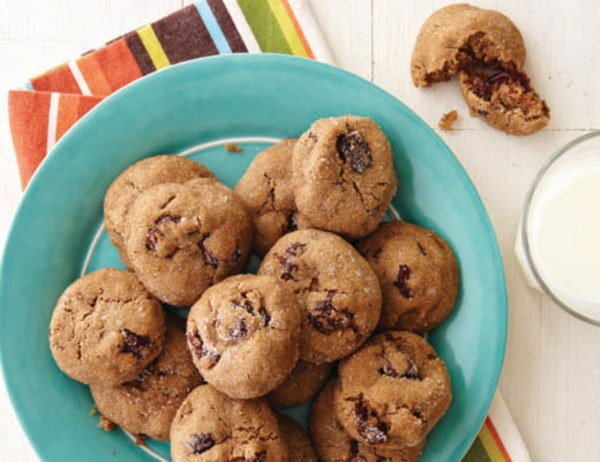Image of Chocolate Chip, Cranberry and Soy Nut Cookies