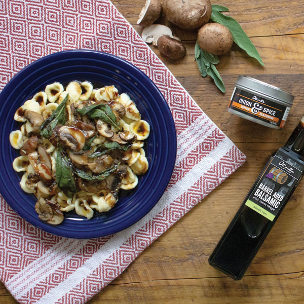Image of ORECCHIETTE WITH BROWN BUTTER, SAGE, AND MUSHROOMS