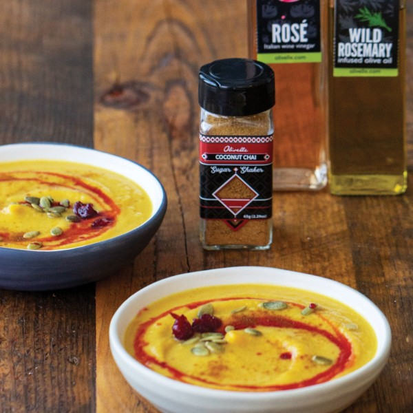 Image ofROASTED BUTTERNUT SQUASH SOUP