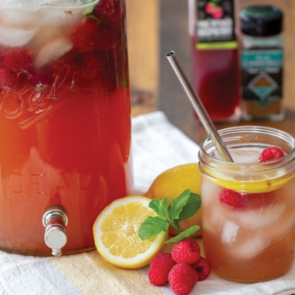 Image of GRILLED RASPBERRY LEMONADE