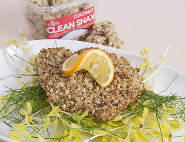 Image of Coconut Clean Snax® Breaded Tilapia