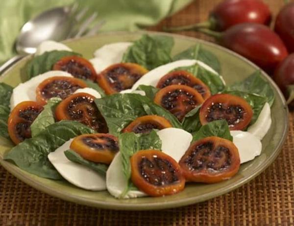 Image of Red Tamarillo Caprese Salad