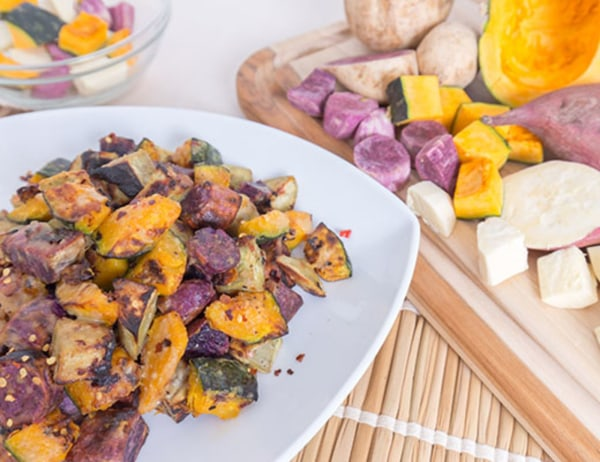 Image of Roasted Asian Root Vegetables