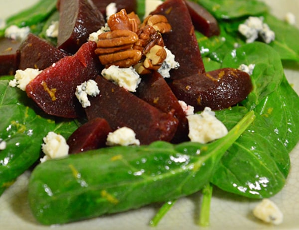 Image of Roasted Beets and Baby Greens Salad