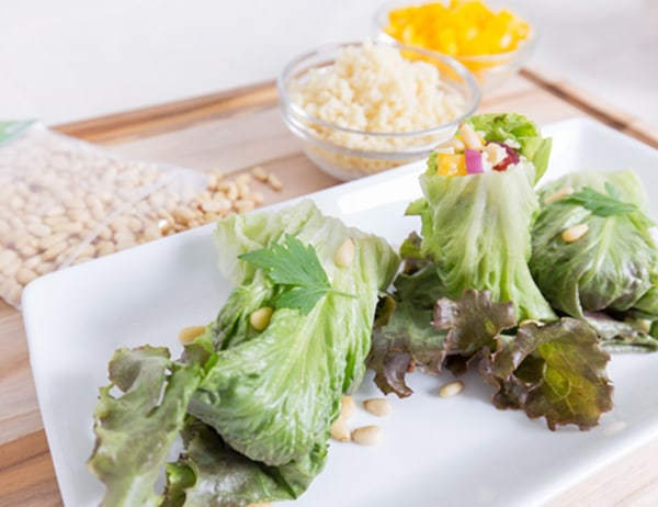 Image ofCouscous Lettuce Wraps