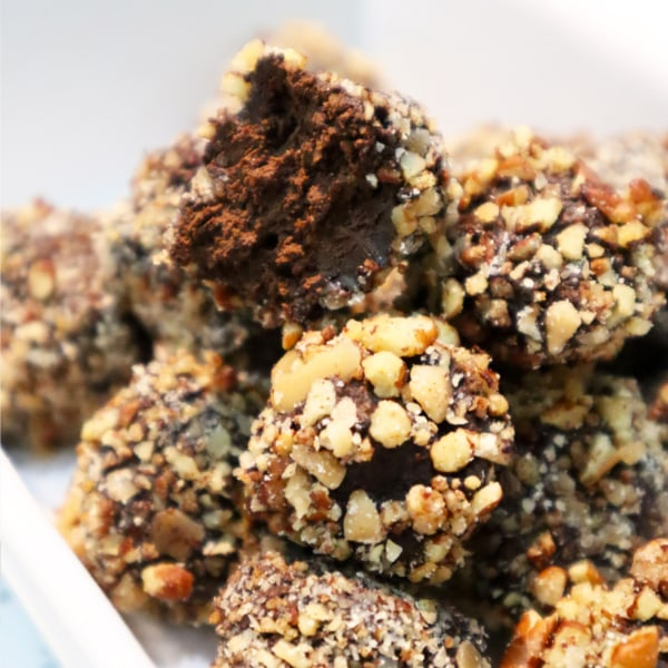 Image of Chocolate Fudge Truffles