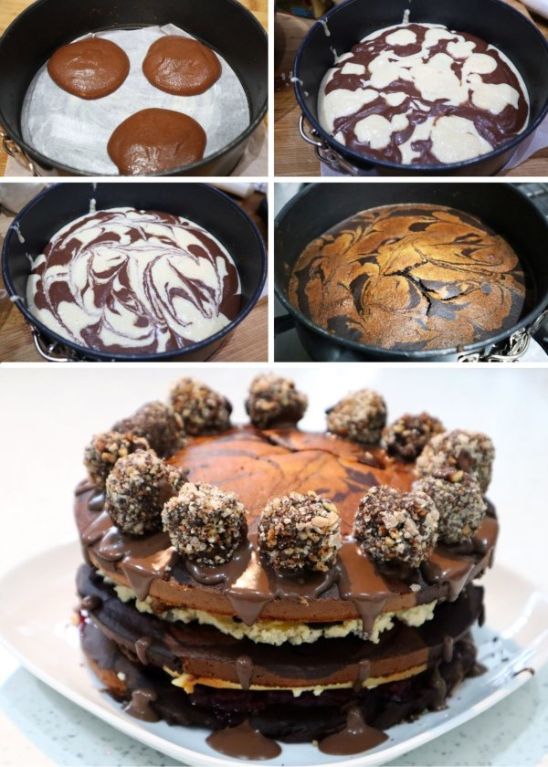 Image of Marble Celebration Cake