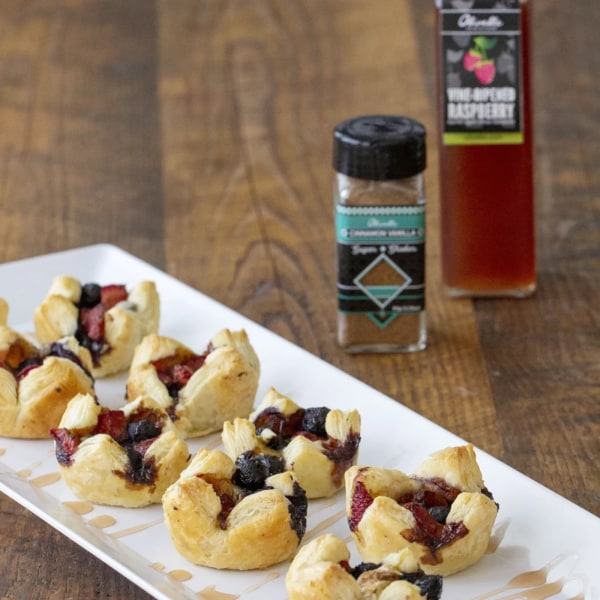 Image of TRIPLE BERRY BRIE BITES
