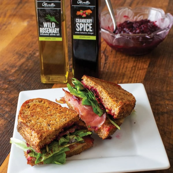 Image of CRANBERRY & HERB GRILLED CHEESE
