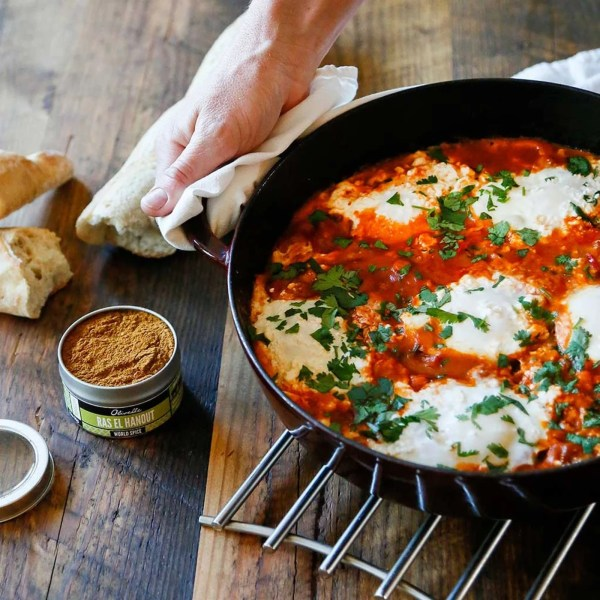 Image of MOROCCAN POACHED EGGS