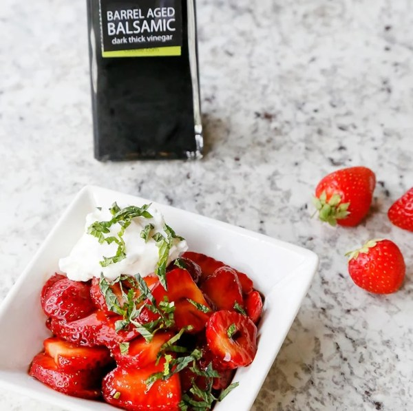Image of BARREL AGED BALSAMIC STRAWBERRIES