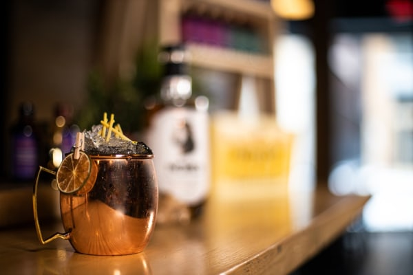 Image of Moscow Mule sans alcool