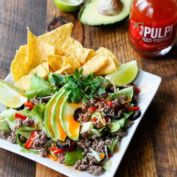 Image ofRED PEPPER TACO SALAD