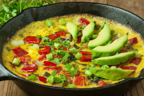 Image of Vegetable Omelet
